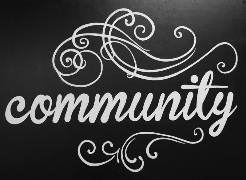 company value: community