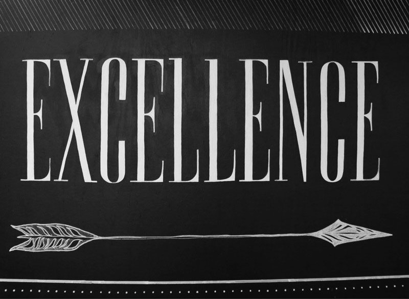 company value: excellence