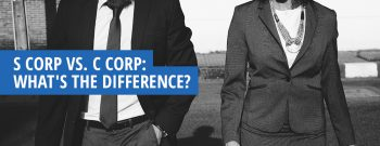 What's the Difference Between S Corp & C Corp