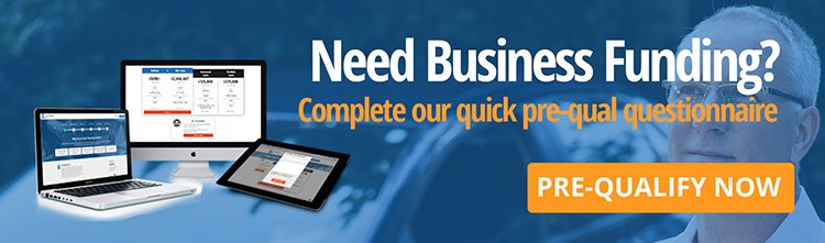 pre-qualify for business financing navigation banner