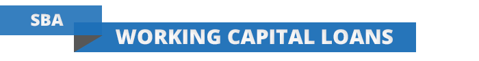 Section header for SBA Working Capital Loans