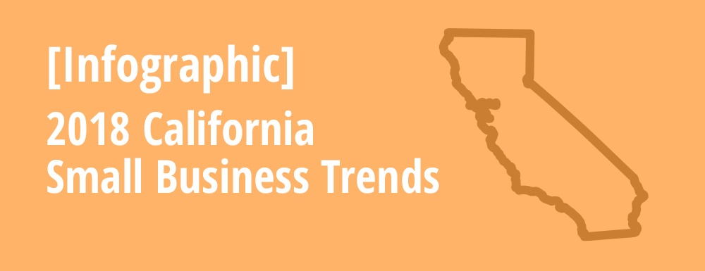 Infographic Image Tile of 2018 California Small Business Trends