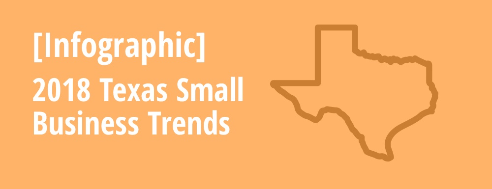Infographic Image Tile of 2018 Texas Small Business Trends