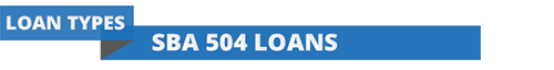 Section header for CDC/SBA 504 Loans