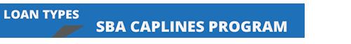Section header for SBA CAPLines Program