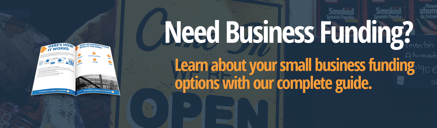 Navigation Banner for Guidant Financial's complete guide to small business funding