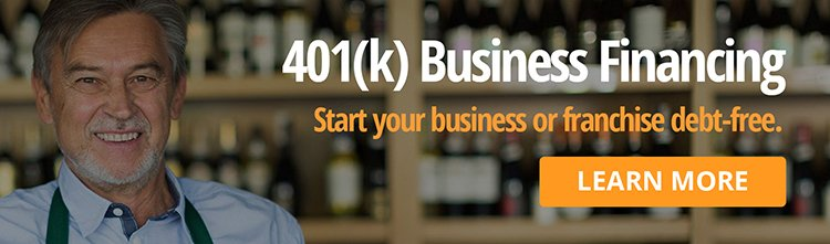 401k business financing banner