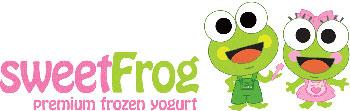 Sweet Frog Premium frozen yogurt franchise logo